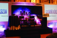 Trade Mission   Press Event   Stage   Corporate Events   Tourism Victoria   Melbourne   Palladium Hotel   Mumbai   Pegasus Events   India Tourism Victoria, Site Visit, Pegasus, Corporate Events, Mumbai, Melbourne, Stage, Australia, India