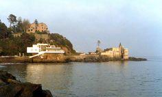 Cap Ducal, Palacio Presidencial y Castillo Wulff circa 1978, Vina del Mar, Chile