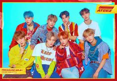 ATEEZ chill out in a skate park in concept photos for 'Treasure One to All' ⋆ The latest kpop news and music Fandom, K Pop, Ideal Type, Jung Yunho, Woo Young, Kim Hongjoong, Welcome To The Family, Album Releases, Group Photos