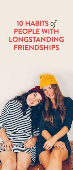 10 habits of people in longstanding relationships