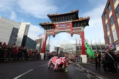 Chinese New Year celebrations in Newcastle City Centre