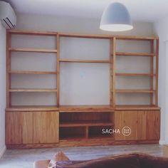 Biblioteca Rubia : en madera Paraíso