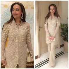 @nazianazir looks stunning in @farazmanan #farazmanan #couture #viceroy #december #weddings #lahore #dubai #london #jewellery @neemarjewels