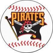 Pittsburgh Pirates baseball floor mat
