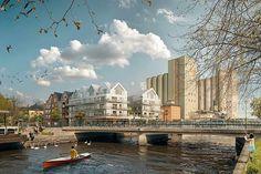 Housing | WHITE | Nortalje | Sweden | 2014  #tegmark #works #architecture #archdaily #3d #render #3dsmax #cg #cgi #modeling #photoshop #render_contest #cgartistlab #archilovers #collage #housing #illustration #art #artworks #design #vray #instarender #exterior