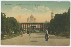 Warsaw, Saxon Garden, 1910.