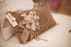 velvet pillow/sachet~ The Feathered Nest ~: The beauty of Willow Nest ~