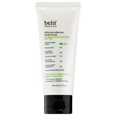 Mild And Effective Facial Scrub - belif   Sephora