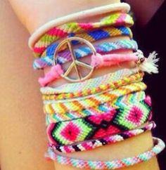 Friendship bracelets #DIY