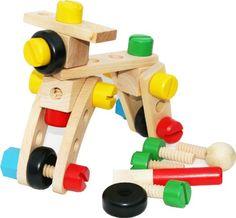 Holz Mutter und Schraube Bausteine ??Construction Kit 30 Stück Toys of Wood Oxford http://www.amazon.de/dp/B007G9ONFG/ref=cm_sw_r_pi_dp_AeLzub12TAE7E