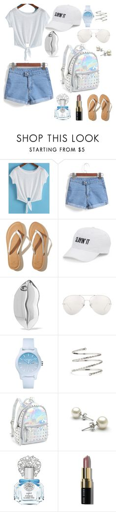 """My First Polyvore Outfit"" by ayazhanmurzakarimova ❤ liked on Polyvore featuring Hollister Co., SO, STELLA McCARTNEY, Linda Farrow, Lacoste, Venus, Bari Lynn, Vince Camuto and Bobbi Brown Cosmetics"