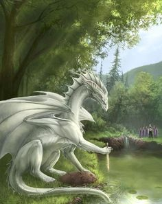 the beauty of the white dragon