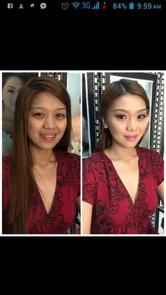 Our beautiful graduate for today. Congrats Darlene. ;)  CJ Jimenez Hair and Make Up Artists Team: 1. Exceptional Portfolio 2. Consistent, More than A Thousand, Unsolicited and Real Time Positive Clients Feedback 3. Numerous Credentials:  Pond's Beauty Ambassador (1 of only 16 HMUAs in the Philippines) Bridal Make Up Artist of the Year- Top Brands Most Sought After Supplier / Top Booker for HMUA category- Weddings and Debut 2013 Image Consultant - Association of Image Consultants…