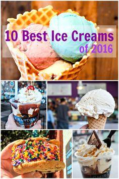 10 delicious ice cream desserts of 2016, according to EpicureanTravelerBlog.com!