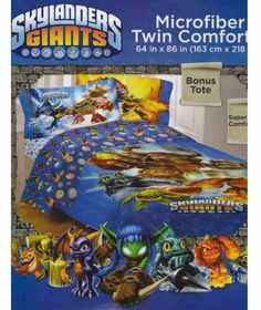 Bon Amazon.com: Activision 64 By 86 Inch Skylanders Sky Friends Microfiber  Comforter, Twin: Home U0026 Kitchen