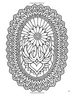 Free coloring page coloringforadults5 Relatively simple but