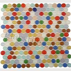 Shop Tiles for Backsplash, Bathroom and Pool Cute Kitchen, Kitchen Tile, Mosaic Tile Art, Mosaics, Tile Countertops, Backsplash, Sunroom Kitchen, Penny Tile, Stone Tiles