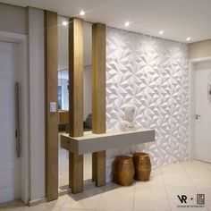 HALL OF ENTRY the light connection and coating 3 # hall furniture - HALL OF ENTRY the light connection and coating 3 # Vestibules - Entrance Decor, Entryway Decor, Entry Foyer, Apartment Entryway, Apartment Interior Design, Room Interior, Hallway Decorating, Interior Decorating, Flur Design