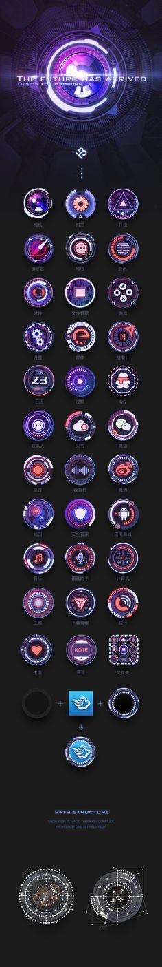 原创作品:科幻手机主题Future Ha...