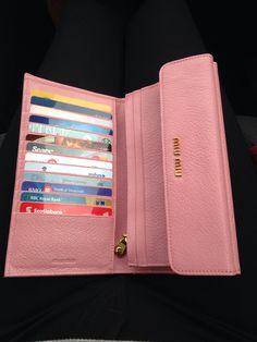 8711a85ce404 Miu Miu wallet - which style is this? Miu Miu Wallet, Small Messenger Bag