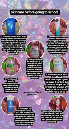 Care wallpaper iphone skincare before going to school for oily & acne skin! Makeup Vs No Makeup, Skin Makeup, Beauty Care, Beauty Skin, Beauty Routines, Skincare Routine, Face Skin Care, Acne Skin, Skin Tips