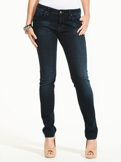 Mavi Sophie Mid Rise Skinny Black Jean | from Just Jeans