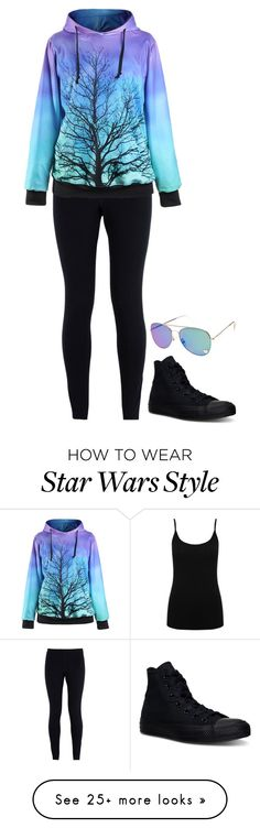 """""""Untitled #799"""" by fatimaflores123 on Polyvore featuring NIKE, M&Co and Converse"""