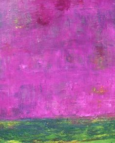 A Purple Haze. 60cm x 80 cm. Oil on box canvas.  http://ift.tt/2qLF1TL  Purple is one of my favourite colours; and I love the combination with green. Beautiful to see these two colours in nature. This is a textured painting which was built with many layers of colours.  #artfinder #abstractcart #purple #colourpurple #green ##sky #landscape #instaart #interiordesign