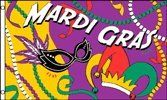 Mardis Gras Party 3x5 Foot Polyester Flag by Vista Flags. $3.75