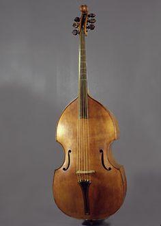 large bass viol 1585 padua
