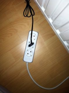 Extension Cord: 1 Euro, we have three to sell.
