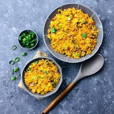 Vegetable Fried Rice, Fried Vegetables, Rice Bread, Rice Recipes, Fries, Curry, Ethnic Recipes, Food, Curries