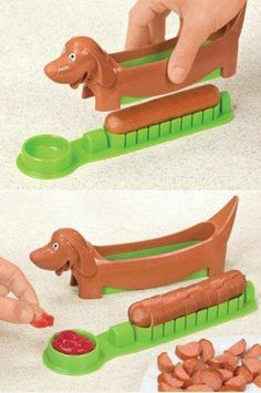 This would be awesome for kids! I hate cutting up hot dogs