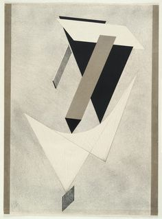 El Lissitzky. Untitled from Proun. (1919-23)