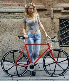 cycling bike bicycle cyclist riding biking biker rider vintage hot babe - Womens Bicycle - Ideas of Womens Bicycle - cycling bike bicycle cyclist riding biking biker rider vintage hot babe Women's Cycling, Cycling Girls, Cycling Equipment, Bicycle Women, Road Bike Women, Bicycle Girl, Velo Design, Bicycle Design, Womens Fashion