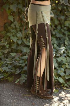 Tassel Lace Up Dance Pants