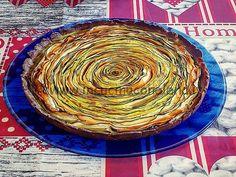 """Torta salata """"spirale"""" di verdure"""