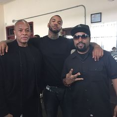 Dr. Dre, The Game, and Ice Cube l West Coast Hip Hop