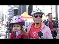 Na inauguração oficial da Ciclovia da Avenida Paulista, no dia 28 de junho, o Canal Mova-se encontrou a ciclista Virgínia Polli. Ela falou sobre a importância da ciclovia, que se trata de um espaço que beneficia muita gente.