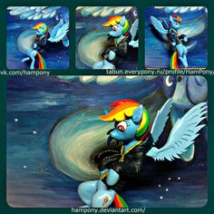 Rainbow Dash by HamPony (for sale) by HamPony.deviantart.com on @DeviantArt