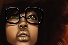 Erykah Badu Paint Art