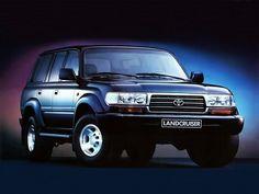 Toyota Land Cruiser 80 VX (1995 – 1997).