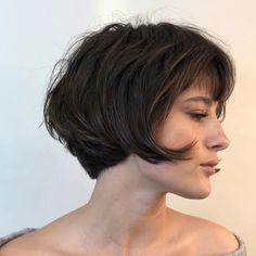 Popular Bob Haircut Ideas For Women In Fall Hairstyles And Haircuts Designs Beliebte Bob-Haarschnitt Cute Hairstyles For Short Hair, Short Hair Cuts, Short Hair Styles, French Hairstyles, Curly Short, Blonde Hairstyles, Layered Hairstyles, Pixie Cuts, Medium Hairstyles