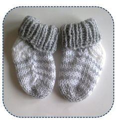 A la Sascha: Simpele Gestreepte Baby Sokjes