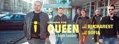 opening for summer 2016 Alternative Rock Bands, Adam Lambert, Summer 2016, Queen, Baseball Cards, Sports, Hs Sports, Sport