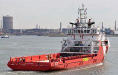 7 juli 2016 te IJmuiden onderweg naar de Middensluis   met latere bestemming Damen Shiprepair  VOS PRIME   http://koopvaardij.blogspot.nl/2016/07/bestemming-amsterdam_7.html
