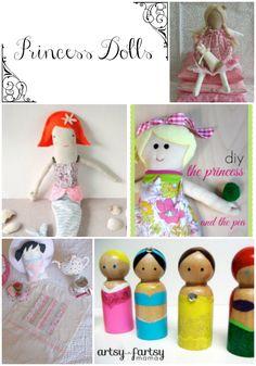 5 Princess Dolls You Can Make!