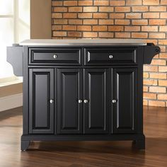 Have to have it. Newport Stainless Steel Top Kitchen Island $399.00