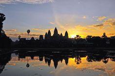 Sun(rise) over Angkor Wat / Cambodia