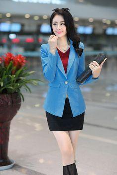 2014 Autumn Korean Style Blazer Jacket YRB0283